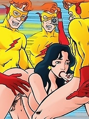 Unleashed XXX scenes from sex-addicted Teen Titans